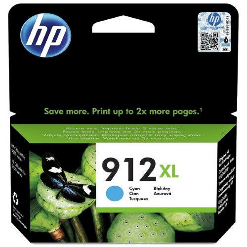 HP 3YL81AE (912XL) Ink cartridge cyan, 825 pages