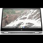 "HP Chromebook x360 14 G1 Silver 35.6 cm (14"") 1920 x 1080 pixels Touchscreen 1.70 GHz 8th gen Intel® Core™ i5 i5-8350U"
