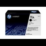HP 11A Black Original LaserJet Toner Cartridge