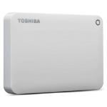 Toshiba Canvio external hard drive 3000 GB White