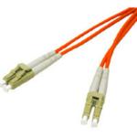 """C2G 8m LC/LC Duplex 62.5/125 Multimode fiber optic cable 315"""" (8 m) Orange"""