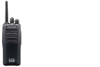 Kenwood TK-3401DT two-way radio 32 channels 12.5 MHz Black
