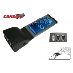 Condor USB & IEEE1394 Exp Card 1 x USB, 2 x IEEE1394a