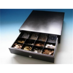 International Cash Drawer 3S-423 Black cash box tray