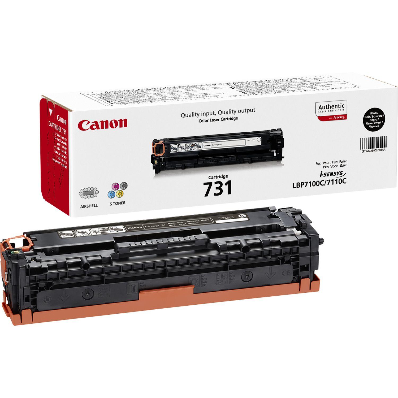 Canon 731 Original Negro 1 pieza(s)
