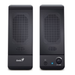 Genius SP-U120 loudspeaker 1-way 3 W Black Wired USB/3.5mm