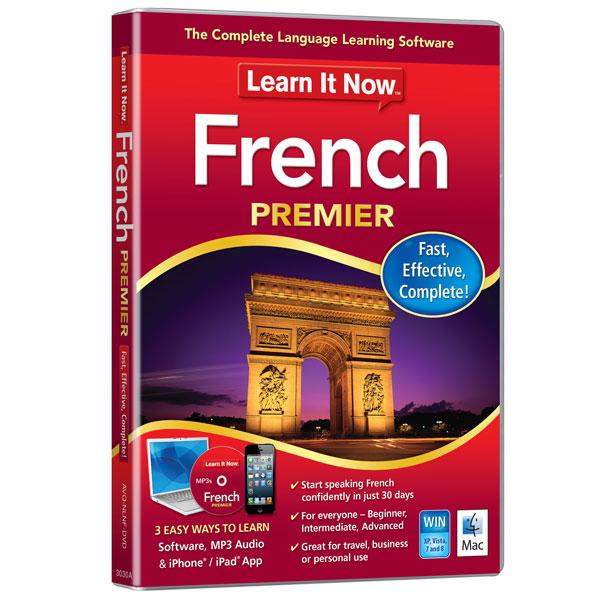 Avanquest Learn It Now French Premier