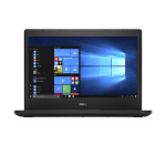 "DELL 3480 2.50GHz i5-7200U 14"" 1366 x 768pixels Black Notebook"