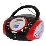 Supersonic SC-508 Portable CD player Black,Red,Silver