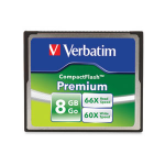 Verbatim Premium CompactFlash 8GB memory card