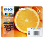 Epson C13T33374011 (33) Ink cartridge multi pack, 6,4ml+4x4,5ml, Pack qty 5