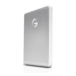 G-Technology G-DRIVE Mobile USB-C Externe Festplatte 1000 GB Silber