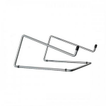 R-Go Tools Steel Office Laptop Stand, silver