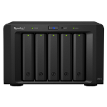 Synology DX513 Storage server Compact Black DX513/40TB-RED