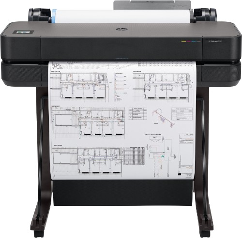 HP Designjet T630 large format printer Wi-Fi Thermal inkjet Colour 2400 x 1200 DPI 610 x 1897 mm Ethernet LAN