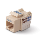 Belkin Category 6 RJ45 Jack - Ivory