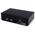 StarTech.com 2-poort Hoge-Resolutie USB DVI Dual-Link KVM-switch met Audio