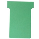 Nobo T-Cards A50 Size 2 Light Green (100)