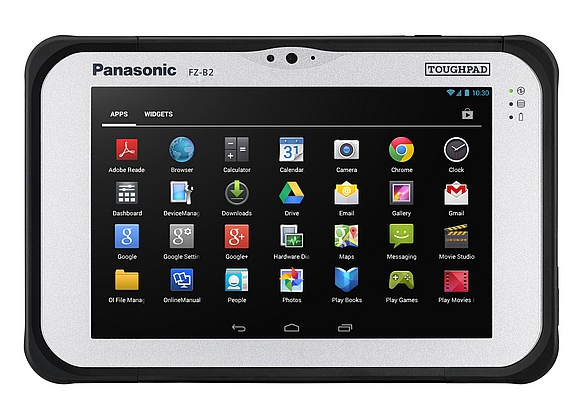 Panasonic Toughpad FZ-B2 32GB Black,Silver