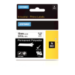 DYMO 18484 Black on white label-making tape