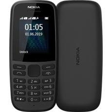 """Nokia 105 4.5 cm (1.77"""") 73.02 g Black Feature phone"""