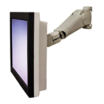 "Ergotron 400 Series LCD Arm 24"" Grey"