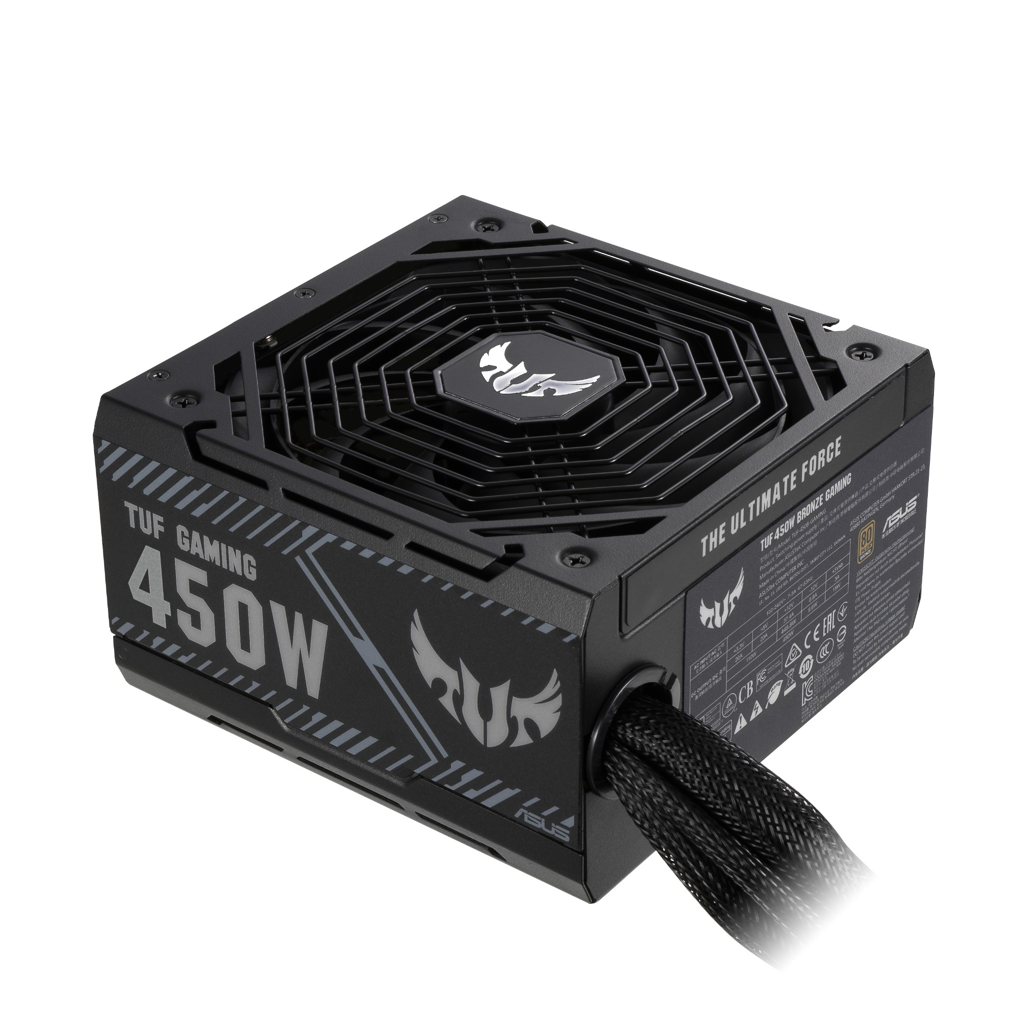 ASUS TUF-GAMING-450B power supply unit 450 W 20+4 pin ATX ATX Black