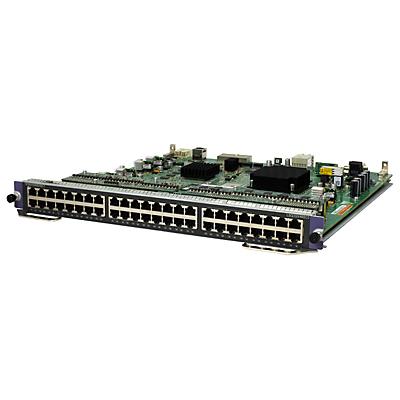 Hewlett Packard Enterprise 7500 48-port 1000BASE-T PoE+ SC Module network switch module Gigabit Ethernet