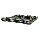 Hewlett Packard Enterprise 7500 48-port 1000BASE-T PoE+ SC Module Gigabit Ethernet network switch module
