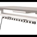 "Ergotron PBA12SM power extension 137.8"" (3.5 m) 12 AC outlet(s) Indoor Grey"