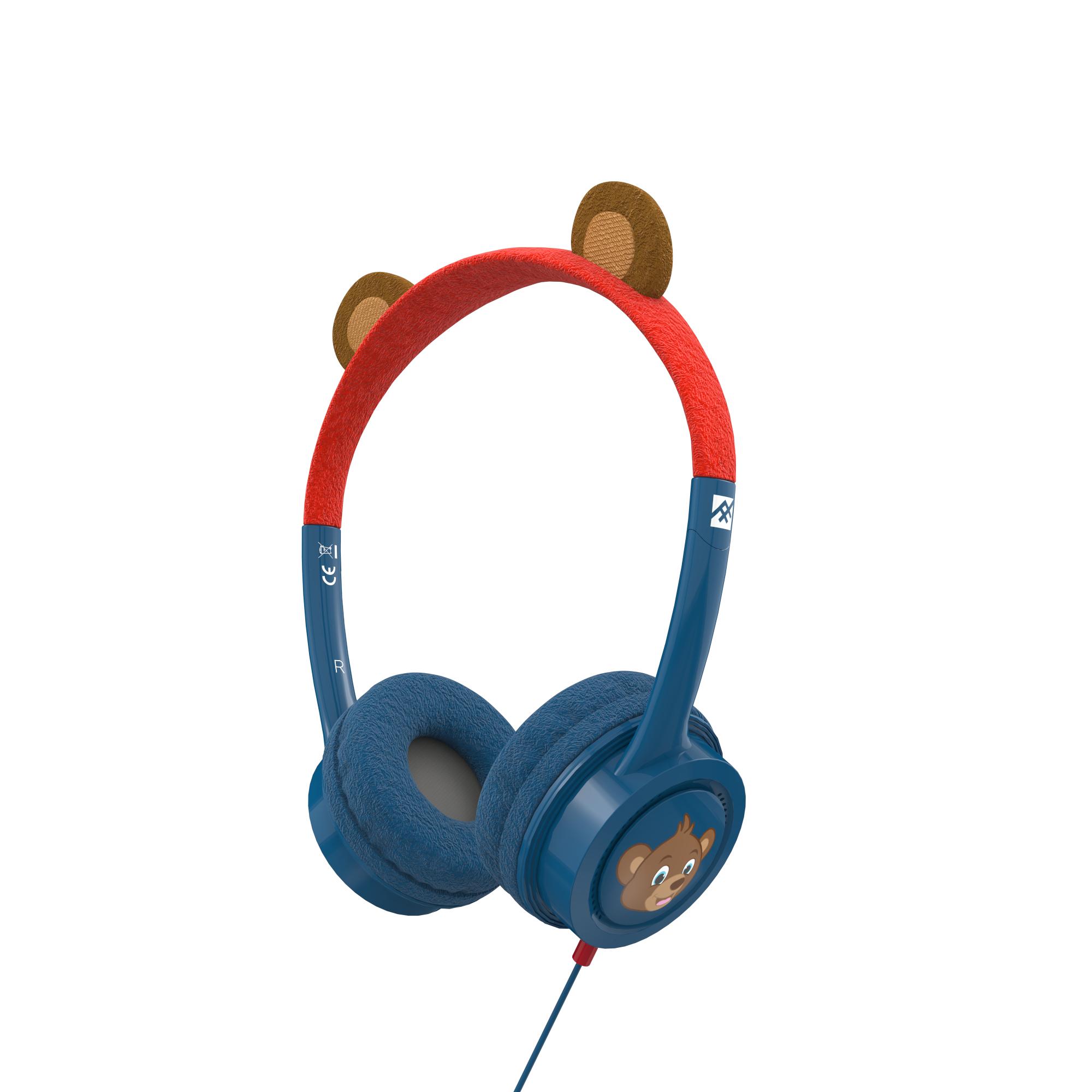IFROGZ 304101845 auricular y casco Auriculares Diadema Azul, Marrón