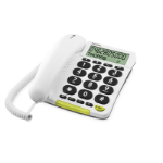 Doro 312cs Analog telephone White Caller ID