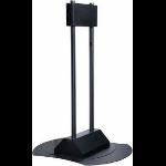 """Peerless FPZ-670 flat panel floorstand 71"""" Portable flat panel floor stand Black"""