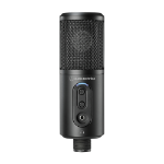 Audio-Technica ATR2500X-USB microphone PC microphone Black