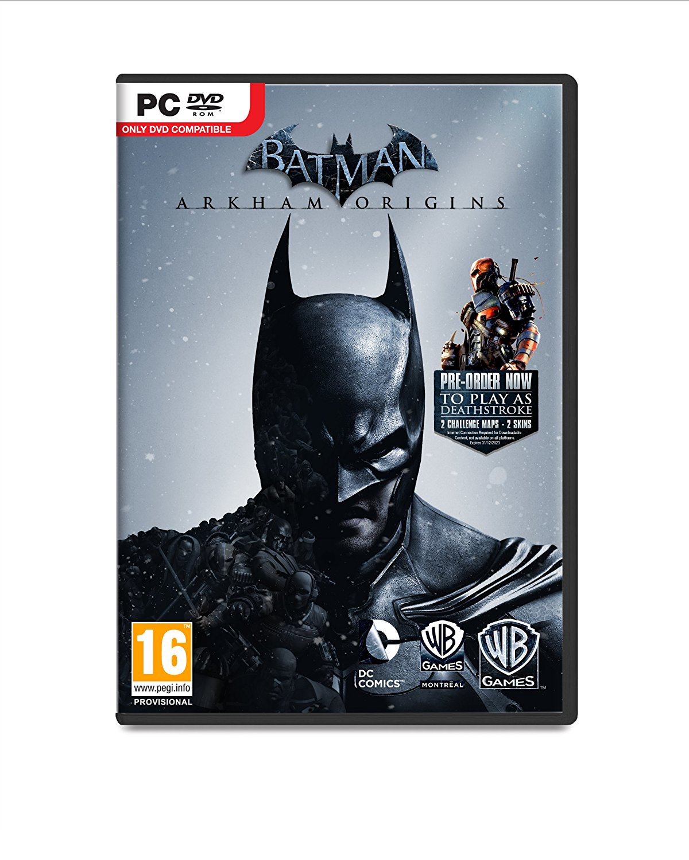 Warner Bros Batman Arkham Origins PC Basic PC DEU,ENG,FRE,ITA Videospiel
