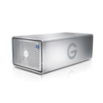 G-Technology G-RAID disk array Desktop Silver