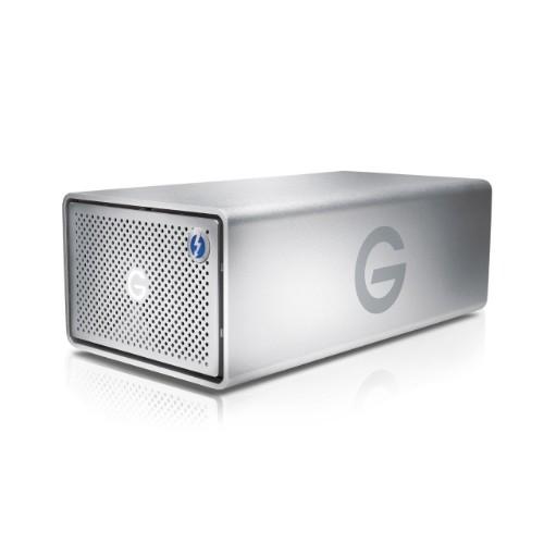 G-Technology G-RAID disk array Desktop Silver