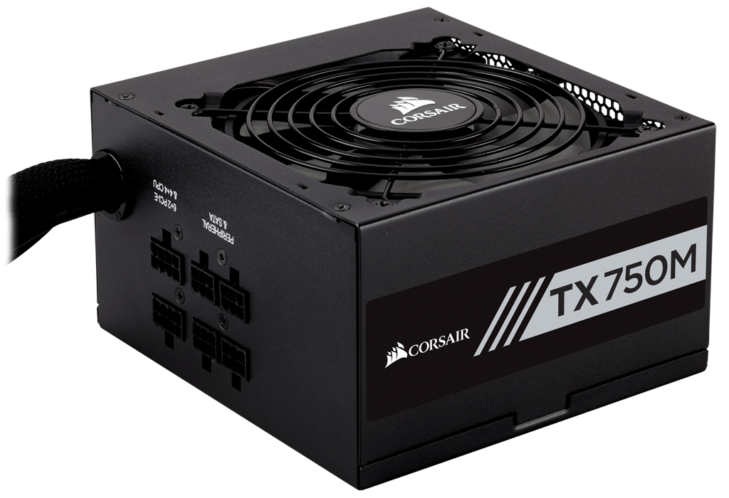 Corsair TX750M 750W ATX Black power supply unit