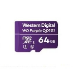 Western Digital WD Purple SC QD101 memory card 64 GB MicroSDXC Class 10 WDD064G1P0C