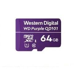 Western Digital WD Purple SC QD101 memoria flash 64 GB MicroSDXC Clase 10
