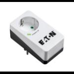 Eaton PB1D limitador de tensión 1 salidas AC 220 - 250 V Negro, Blanco