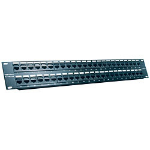 "Trendnet 48-Port CAT 5e RJ-45 UTP 19"" Rack Mount Patch Panels patch panel"