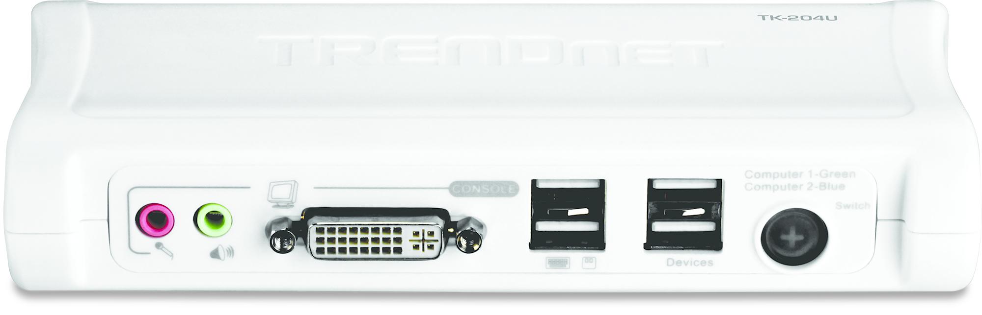 Trendnet TK-204UK interruptor KVM