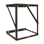 Tripp Lite SRWO8U22 SmartRack 8U/12U/22U Expandable Flat-Pack Low-Profile Switch-Depth Wall-Mount 2-Post Open Frame Rack