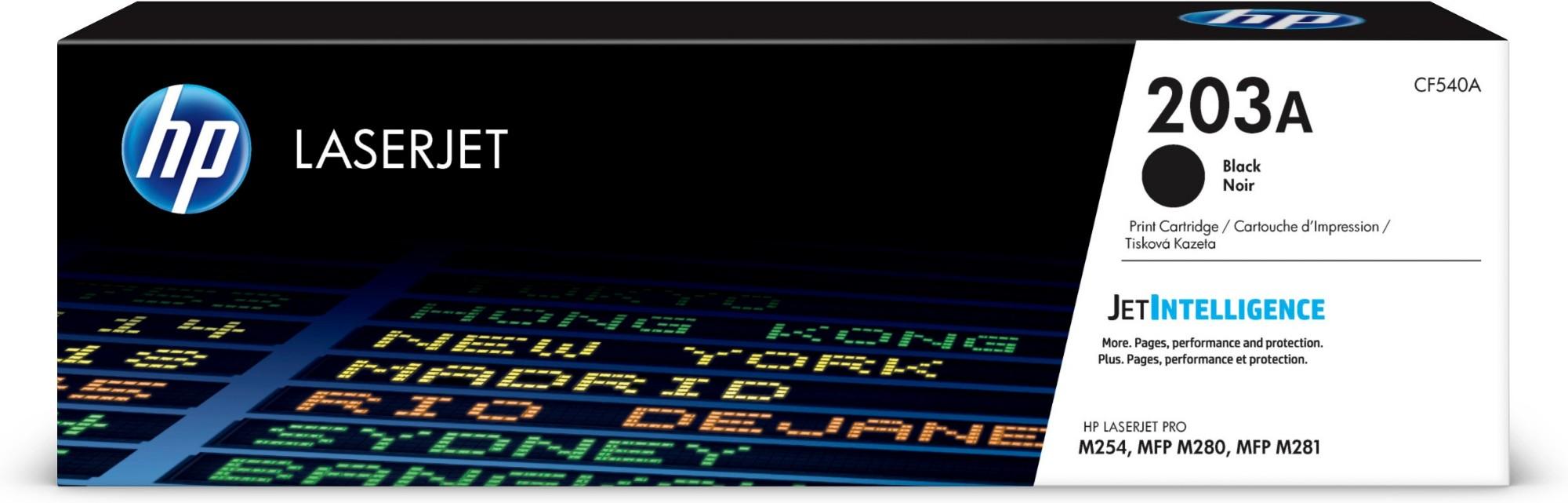 HP 203A Origineel Zwart 1 stuk(s)