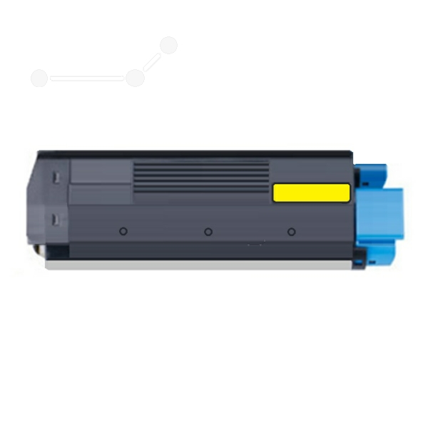 Dataproducts DPC5250YE compatible Toner yellow, 5K pages, 395gr (replaces OKI 42127454)
