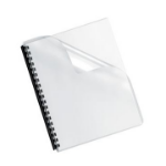 Fellowes 5293701 binding cover Plastic Transparent 100 pcs