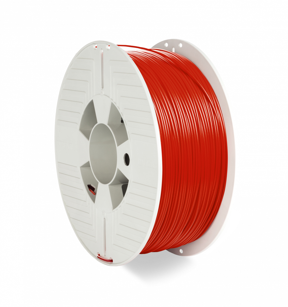 Verbatim 55053 3D printing material Polyethylene Terephthalate Glycol (PETG) Red 1 kg