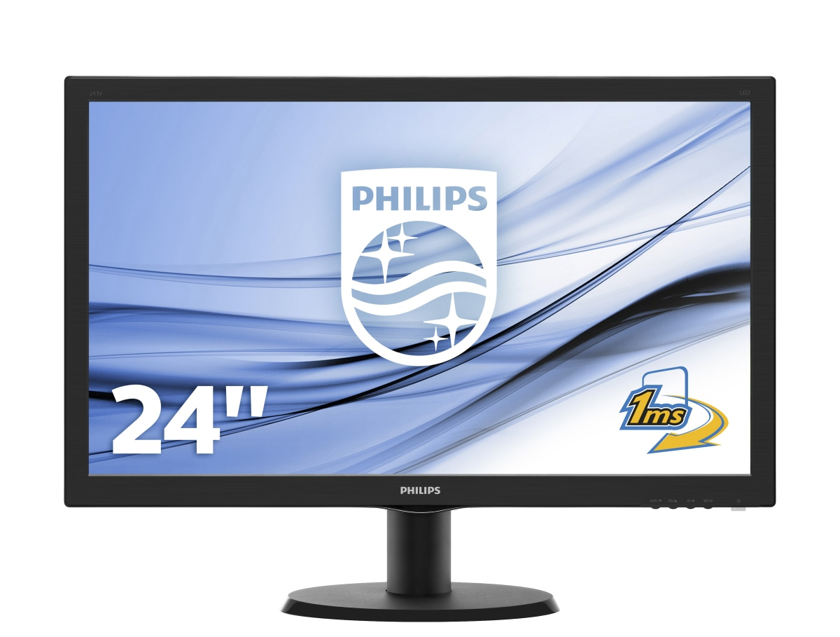 Philips V Line Monitor LCD con SmartControl Lite 243V5LHSB/00