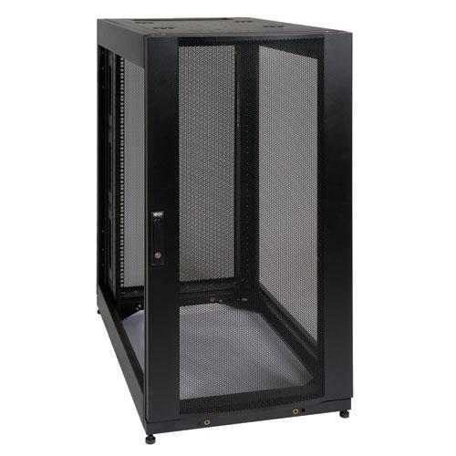 6c8f19e45798 Tripp Lite 25U SmartRack Standard-Depth Rack Enclosure Cabinet, Expansion  Version - side panels not included